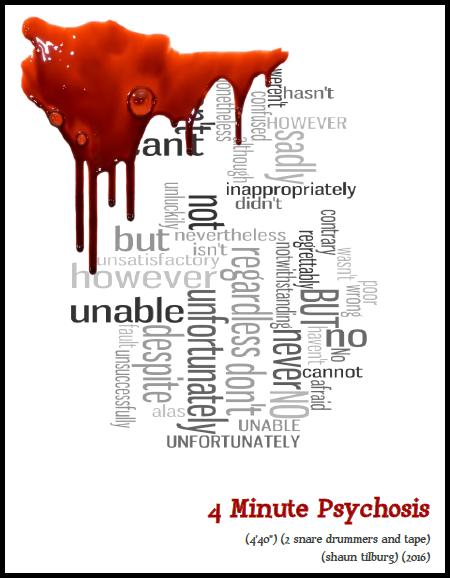 [PDF] 4 Minute Psychosis, Shaun Tilburg