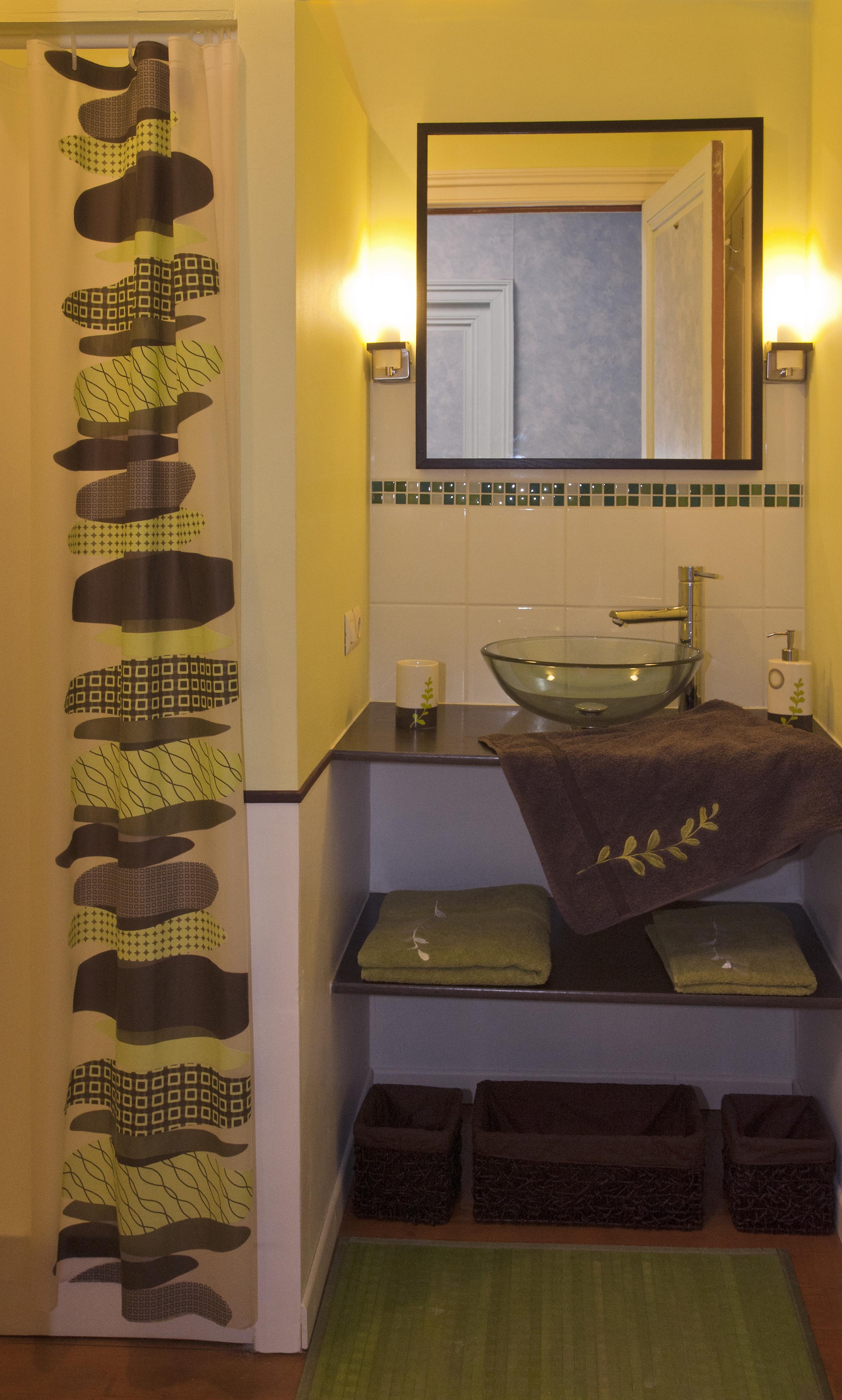 Salle d'eau chambre Tilleul