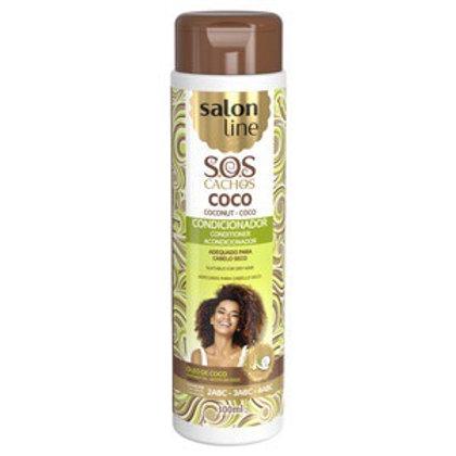 Salon Line Condicionador Sos Coco Tratamento Profundo  300ml