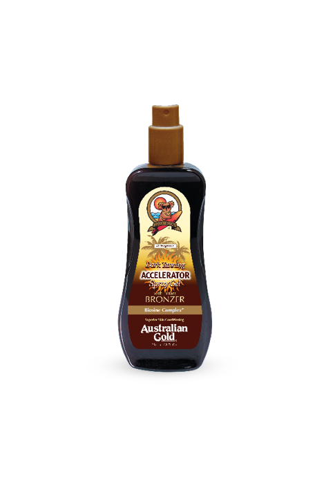 Accelerator dark tanning spray gel with bronzer 237ml Australian Gold