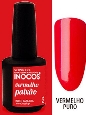 VERNIZ GEL VERMELHO PAIXÃO CAP.: 15ML
