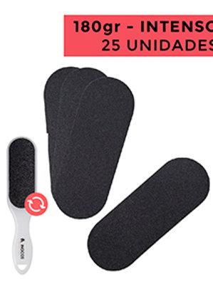 RECARGAS LIMAS DE PÉS - USO INTENSO - 180 - PACK 25 UNIDADES CAP.: 25