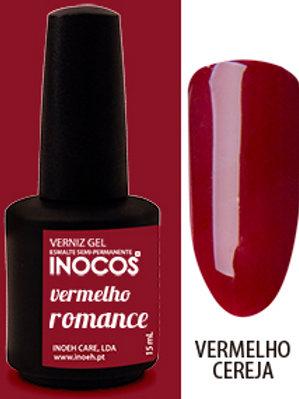 VERNIZ GEL VERMELHO ROMANCE CAP.: 15ML