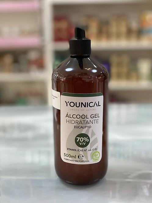 Álcool gel hidratante Eucalipto younical