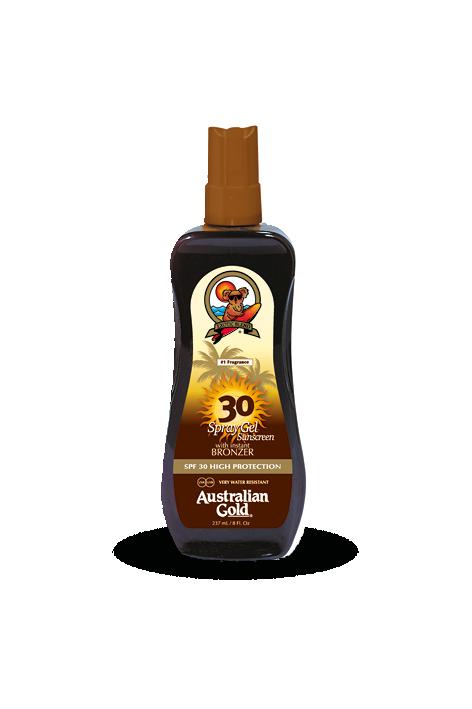 Gel-Spray Protector SPF 30 Instant Bronzer 237 ml Australian Gold
