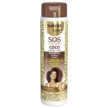 Salon Line Champô Sos Coco Tratamento Profundo  300ml