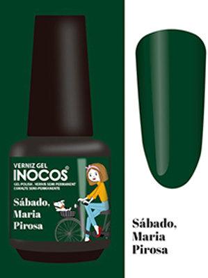 VERNIZ GEL INOCOS SÁBADO, MARIA PIROSA CAP.: 15ML