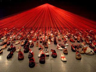 Инсталляция талантливой японской художницы Чихару Шиота