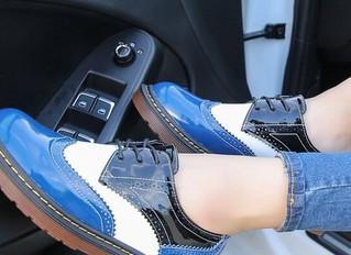 Выбор женской обуви для вождения