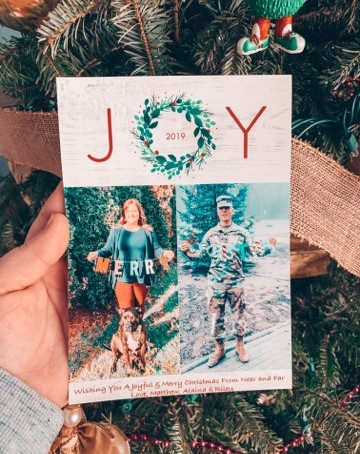 Christmas Cards - Deployment Style