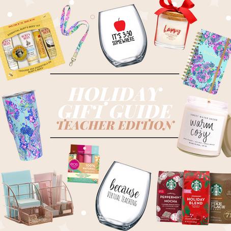 Teacher Gift Guide Christmas 2020