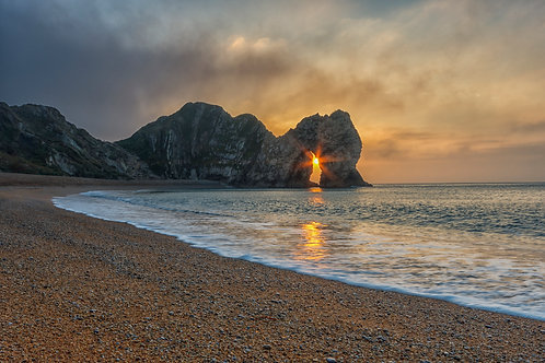 Durdle Door Sunburst - 012