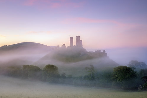 Corfe in the Mist - 065
