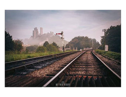 On the Tracks__A misty morning and a dif