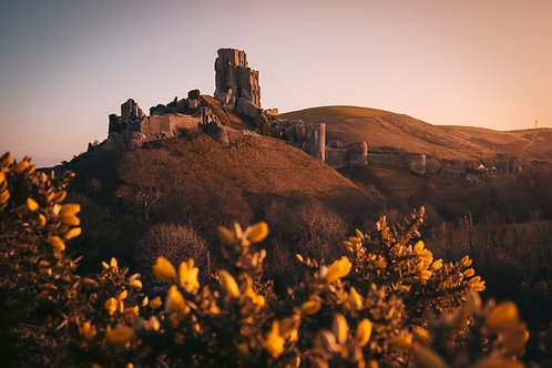 First Light at Corfe - 037