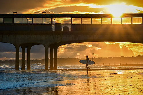 Surfing at Boscombe - 011