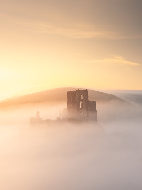 Corfe Vanishing in the Mist - 066