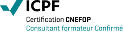Logo ICPF & PSI Confirme CNEFOP Consultant Formateur