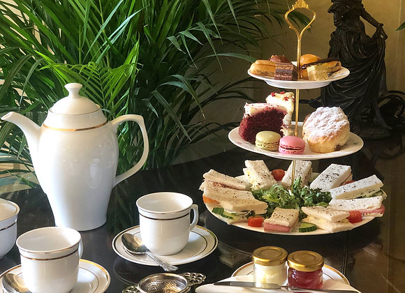 Traditional Afternoon Tea Service for Two - Gift Voucher