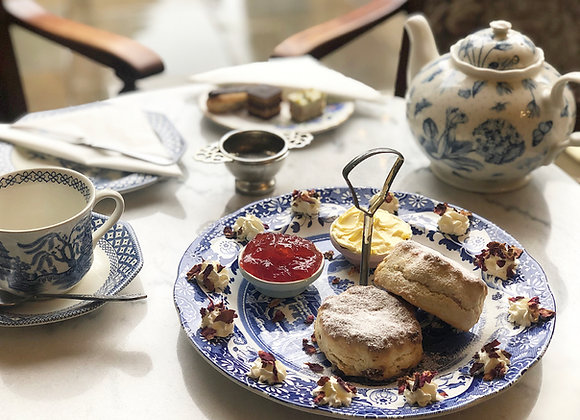 Cream Tea Service for Two - Gift Voucher