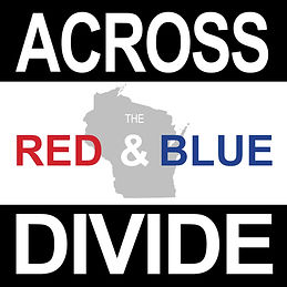 Across the Red and Blue Divide Logo - sq