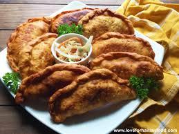 fried haitian patti