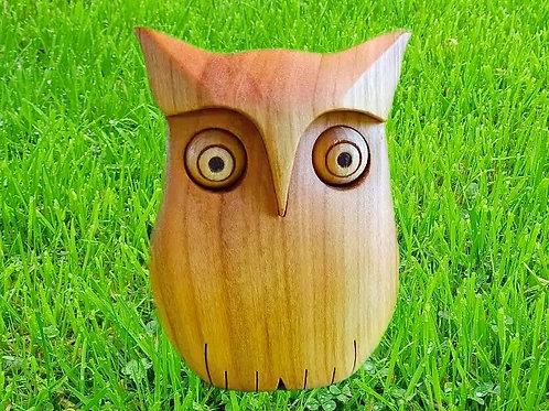 Holz Eule