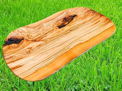 Servierplatte aus Olivenholz