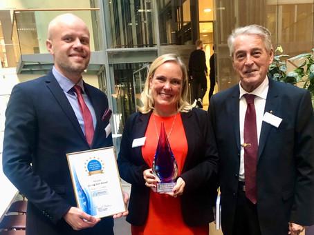 EpiEndo Pharma wins the Swedish American Life Science Summit (SALSS) Rising Star Award 2021