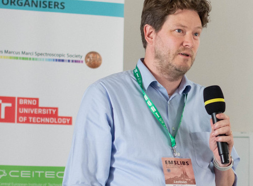 DTE's Technical Director, Dr Kristjan Leosson presents at EMSLIBS 2019