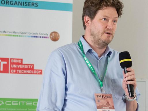 DTE's Technical Director, Dr Kristjan Leosson presents at EMSLIBS 2019