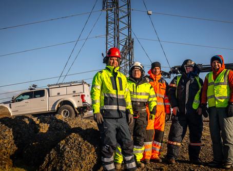 Landsnet installs innovative high-voltage grid surveillance solution from Laki Power