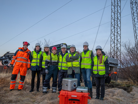 First prototype installed at Landsnet's high voltage line