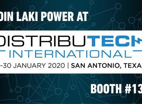 Laki Power attends DISTRIBUTECH 2020 in San Antonio, TX