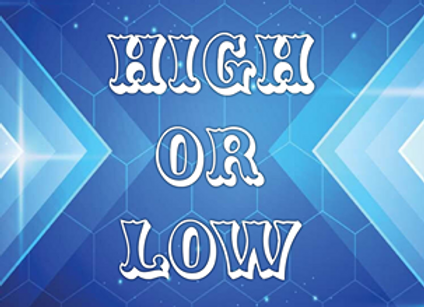 High or Low Card Game