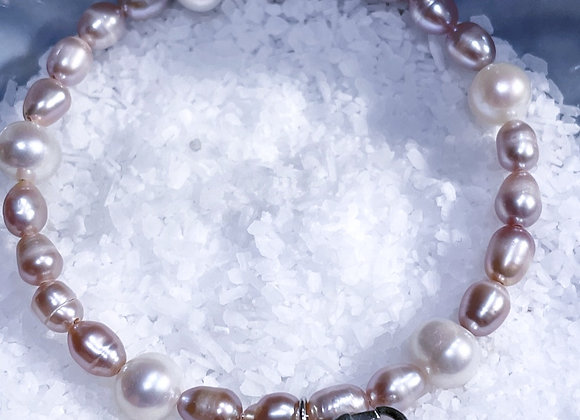 Classic Pearl Cage Bracelet