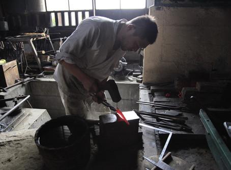 Taro Asano + Swordsmithing