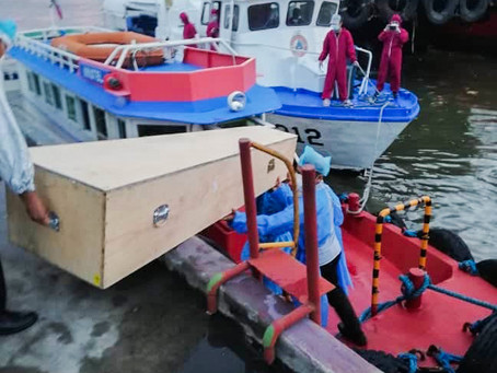 Pandiman and the Philippine Coast Guard - When a crewmember dies at sea