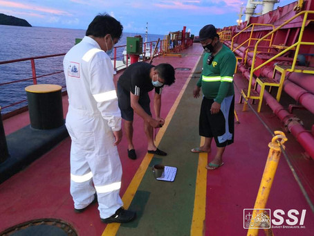 Proactive during the Pandemic - SSI surveyors relocate to Surigao