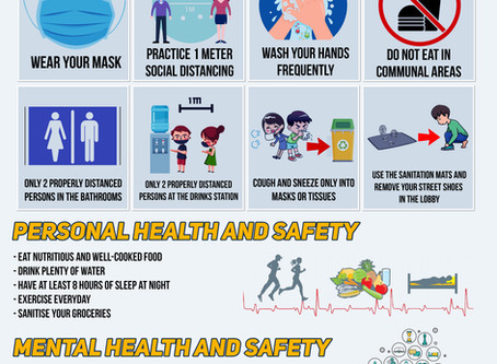 Health and Safety Instruction at Pandiman Group of Companies