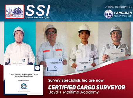 Survey Specialists takes the time to qualify with Lloyds Maritime Academy