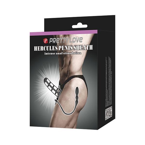 Capa Peniana Com Estimulador de Prostata Modelo 1 bi 026233 Pretty Love