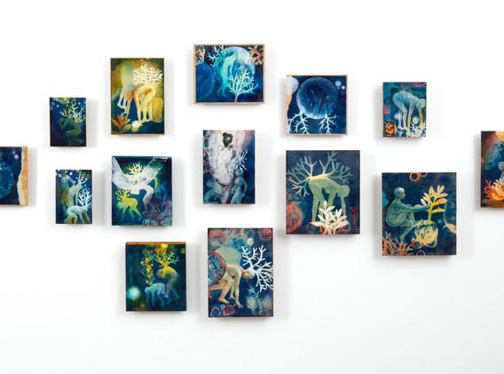 Blue World, installation view