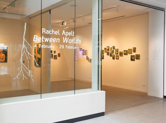 Between Worlds - installation view