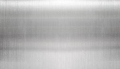 Sølv stålplade