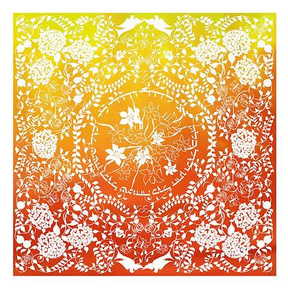 Papercut: Orange and Yellow