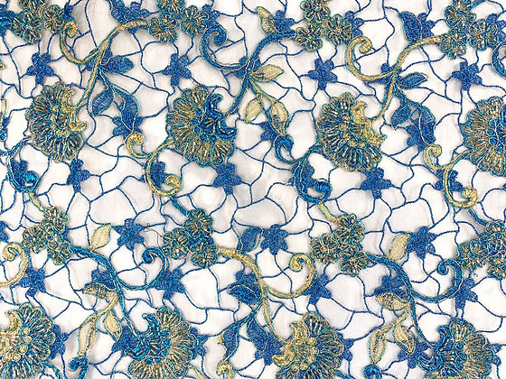 Blue Indian lace