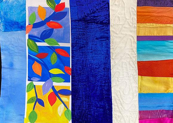 Quilted multi fabrics 039