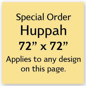 Increase Huppah Size to 72 x 72 inches