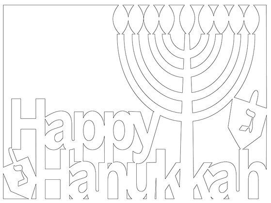 Happy Hanukkah to COLOR